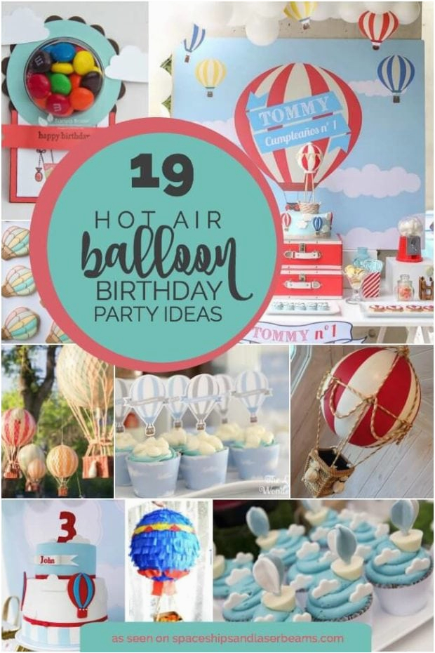 19 hot air balloon party ideas