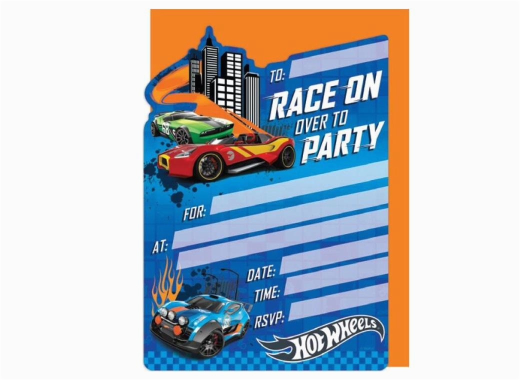 Hot Wheel Birthday Invitations Hot Wheels Party Supplies Sweet Pea Parties