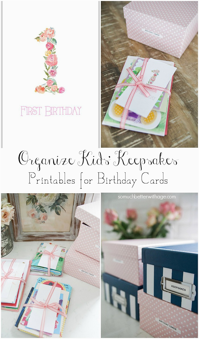 How Much Are Birthday Cards Organizing Kids Keepsakes Free Of