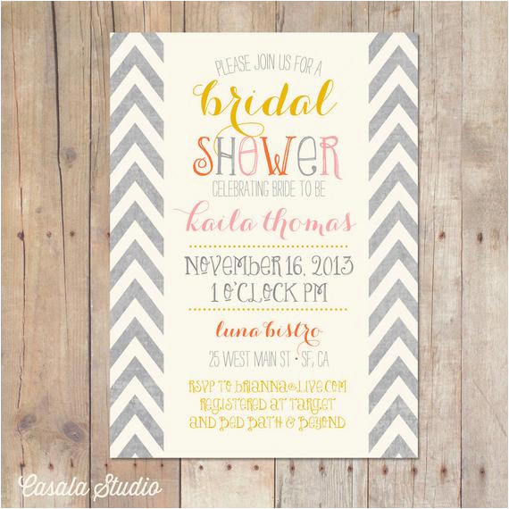 How To Ask For Gift Cards On A Birthday Invitation Bridal Shower Invitations