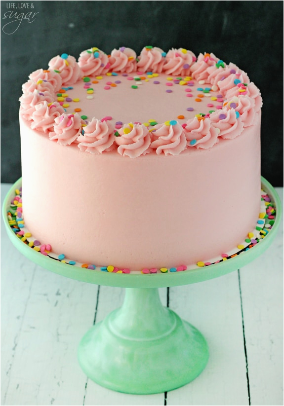 how to decorate birthday cake with icing sugar