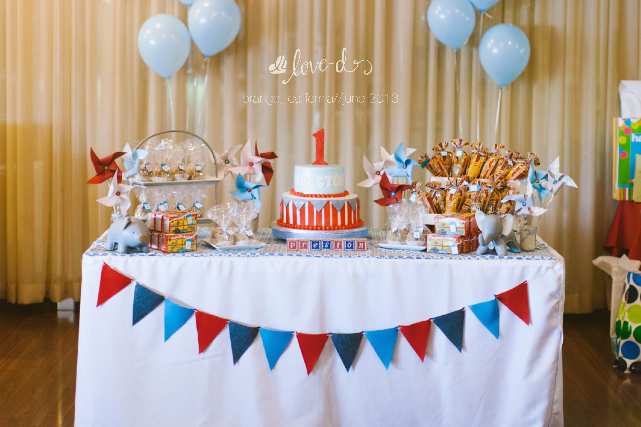 how to create a dessert table for your child