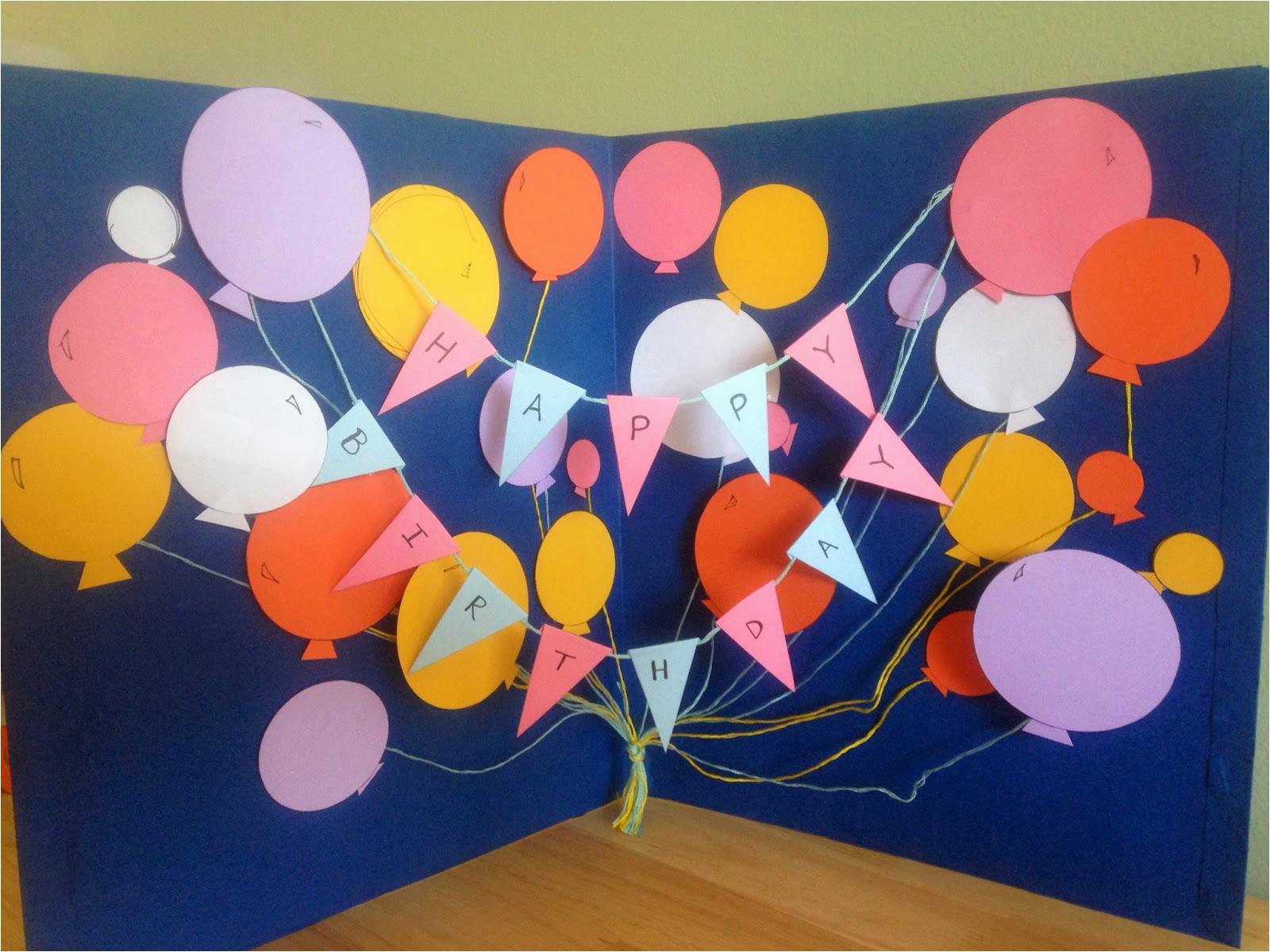 giant happy birthday card