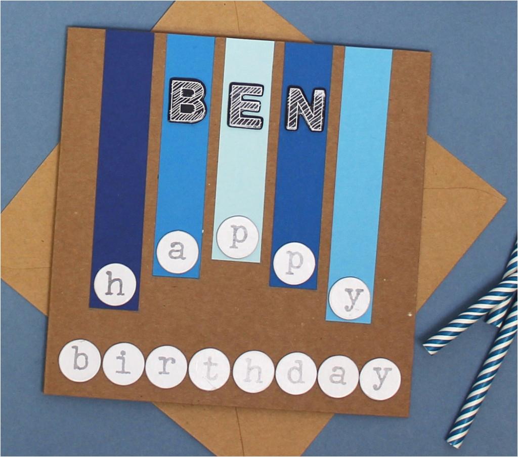 four birthday cards to make for boys hobbycraft blog