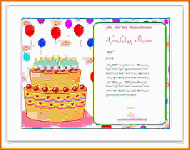 how to make a birthday card on microsoft wordreference