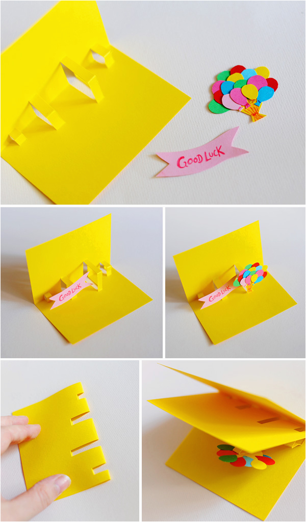How to Make A Birthday Card Out Of Paper Diy Pop Up Cards