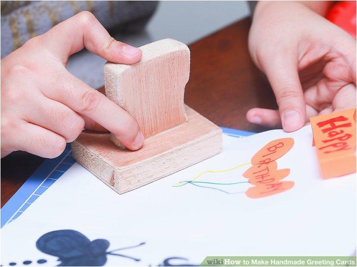 make handmade greeting cards
