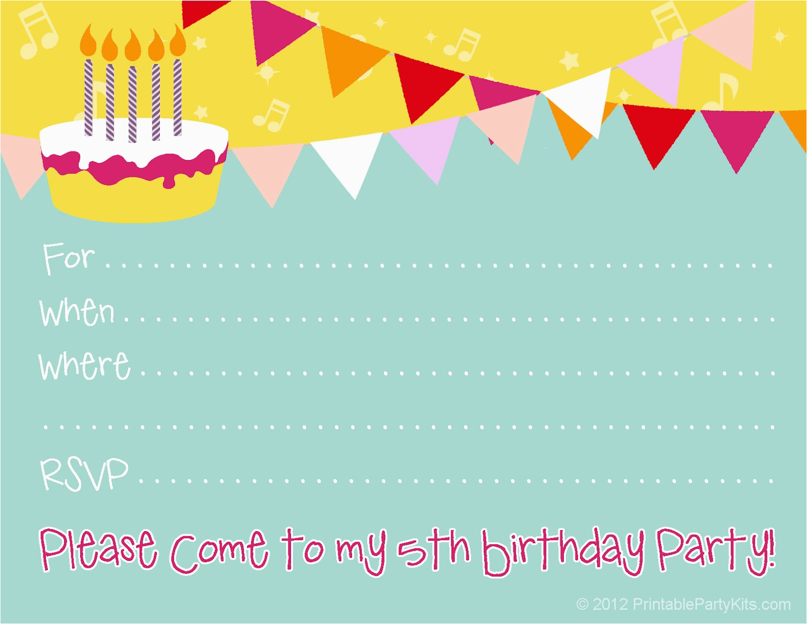 How To Make A Birthday Invitation Online Free Party Invitations For Girl Bagvania
