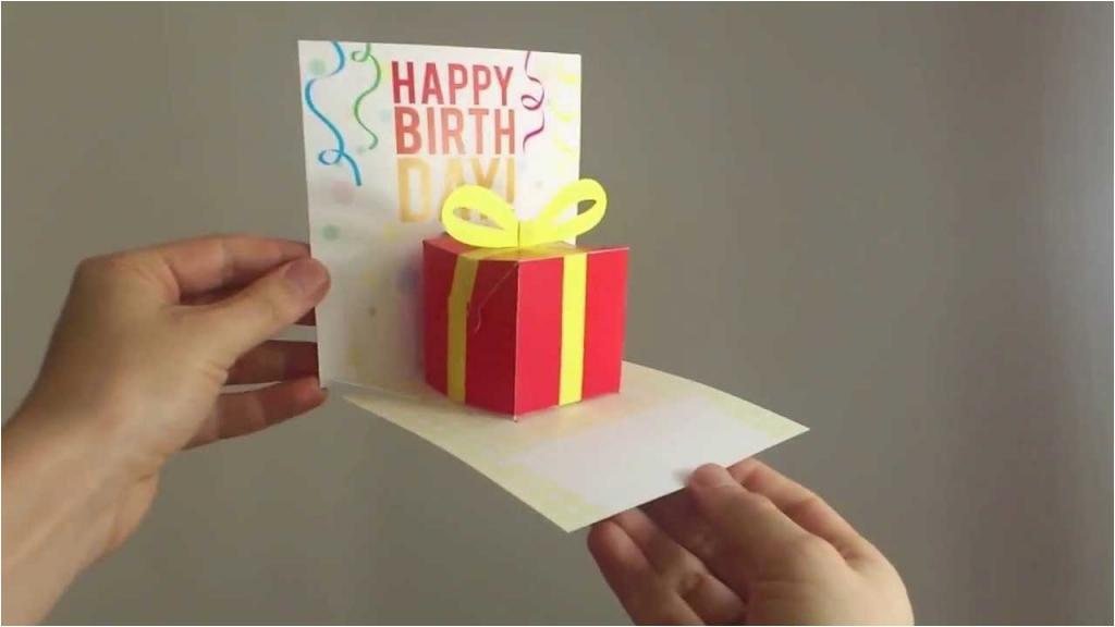 easy birthday pop up cards card design ideas