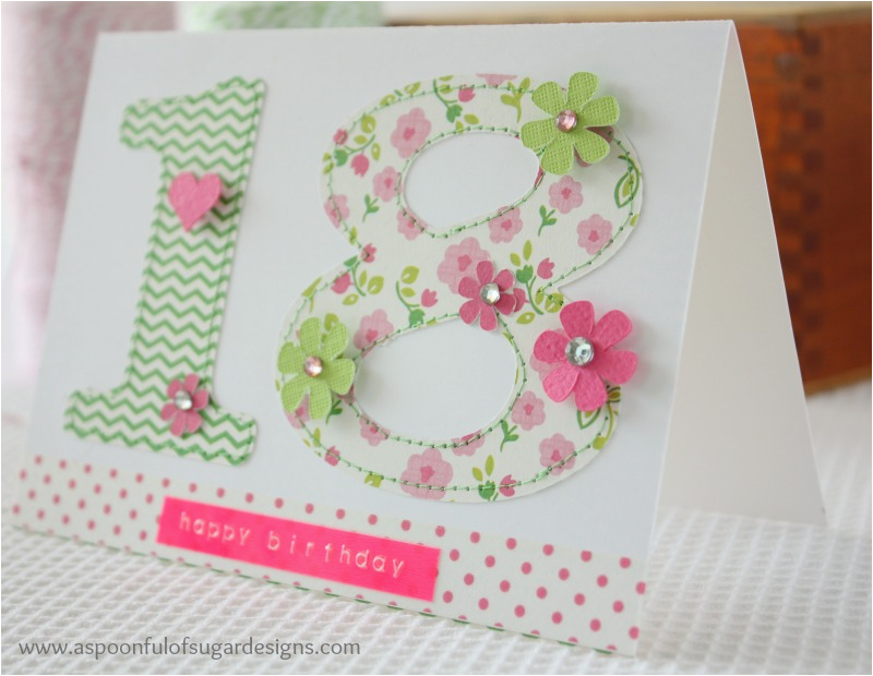 How to Make A Simple Birthday Card Out Of Paper Easy Birthday Cards to Make A Spoonful Of Sugar