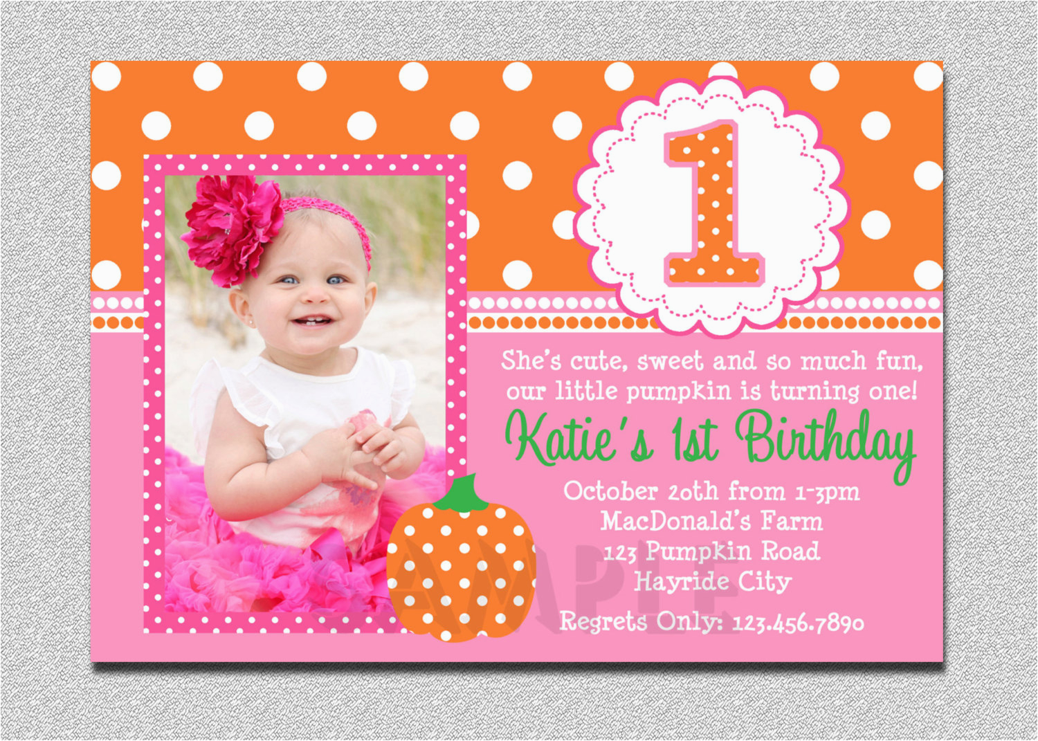 how to make 1st birthday invites free download