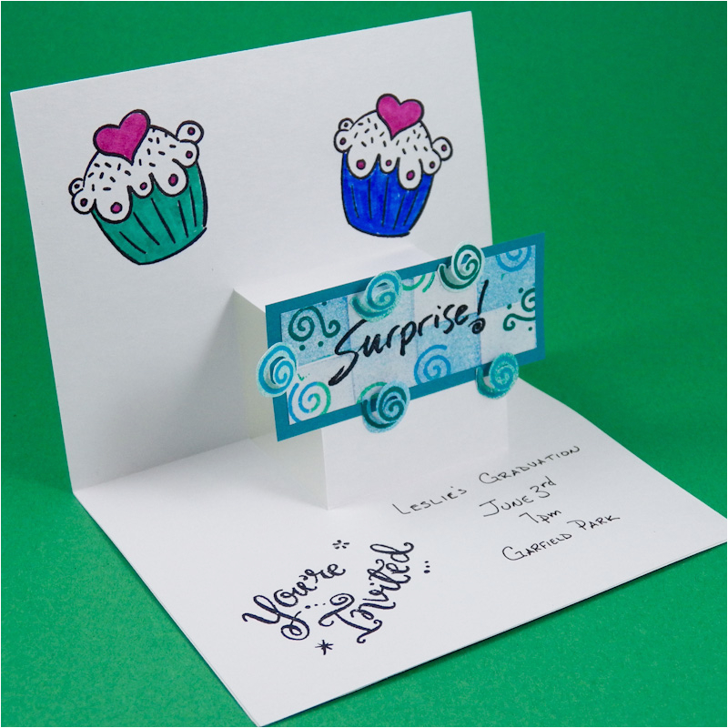 how to make a pop up card step by step steppopupinvite2800