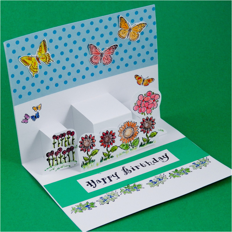 How To Make Pop Up Birthday Cards Step By Greeting Card