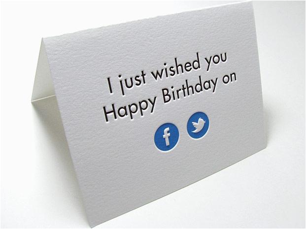 facebook birthday card