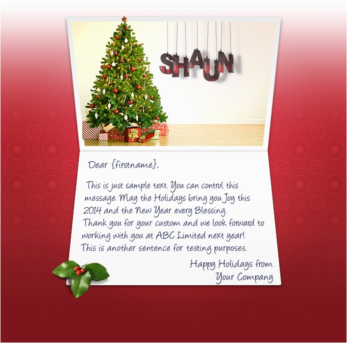 How To Send An E Birthday Card Christmas Ecards For Business Electronic Xmas Holiday Cards