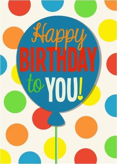 send free birthday card