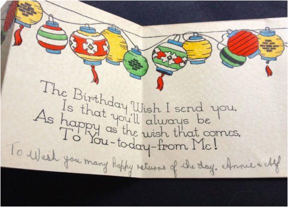 new happy birthday card writing