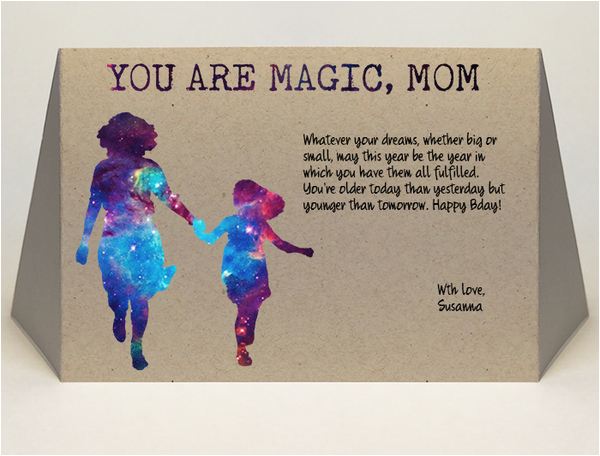 How To Write Birthday Card For Daughter Mom Sample Grande Beautiful