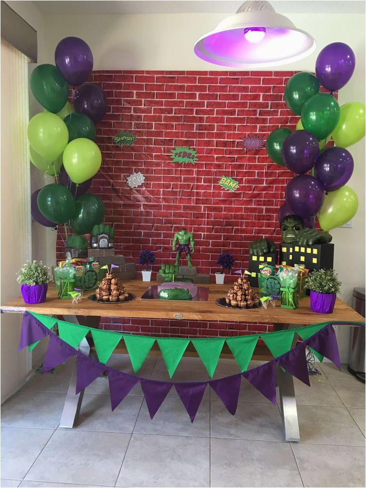 tema da festa hulk