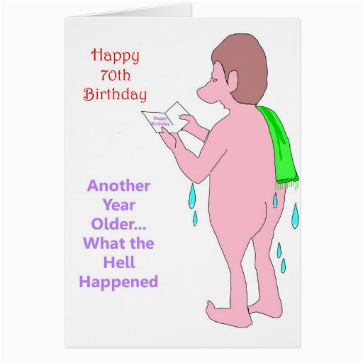 Humorous 70th Birthday Cards Quotes Funny Quotesgram