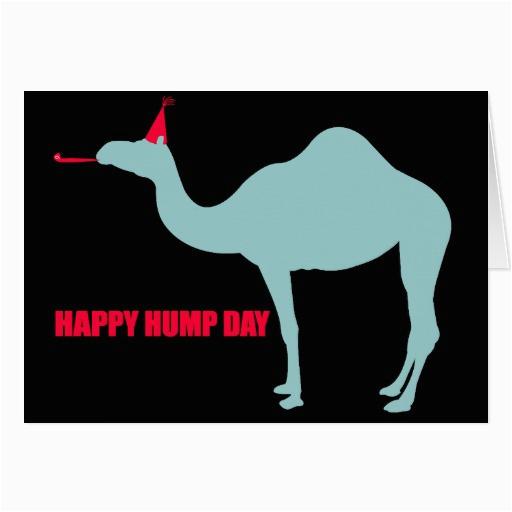 happy hump day camel greeting card zazzle