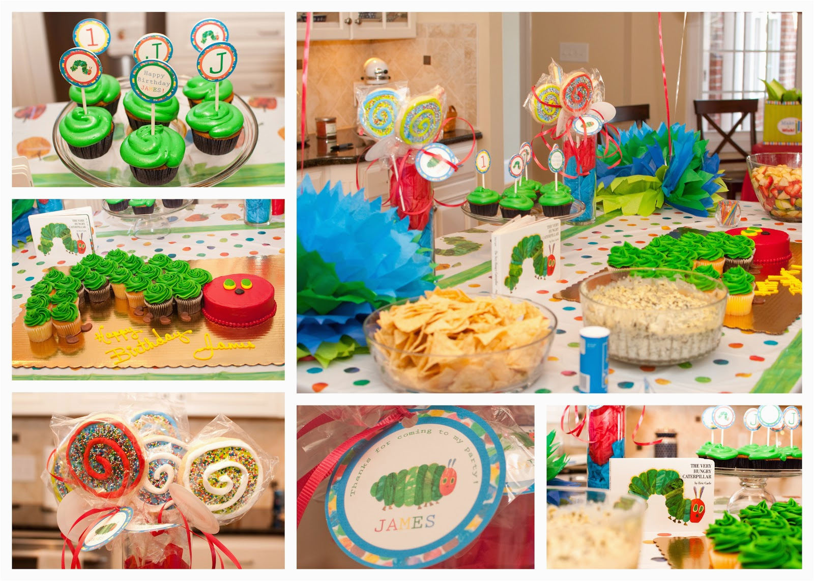 very hungry caterpillar first birthday