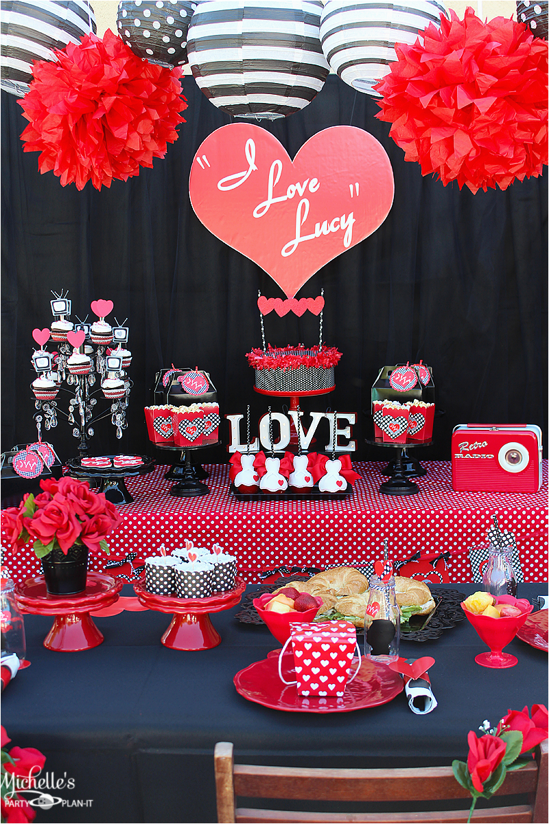 i love lucy party galentines day
