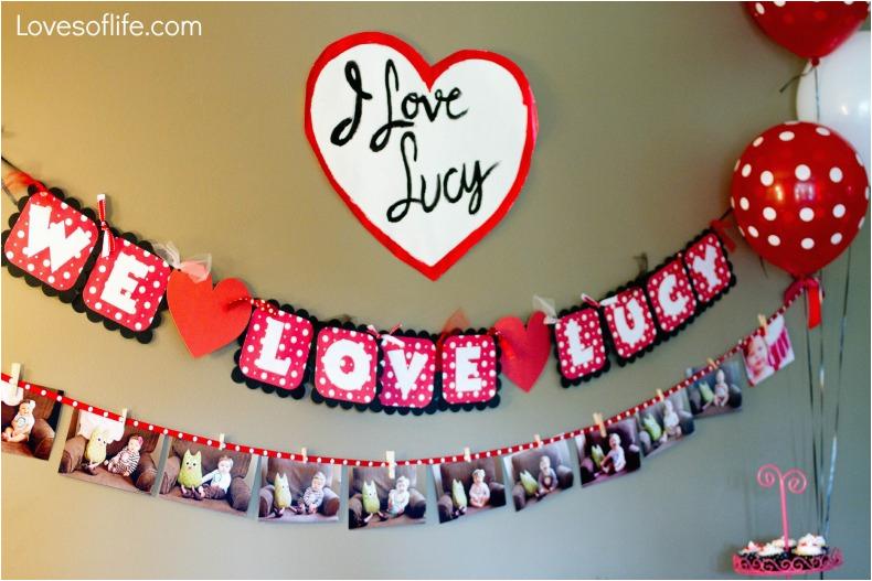 lucys 1st birthday i love lucy theme