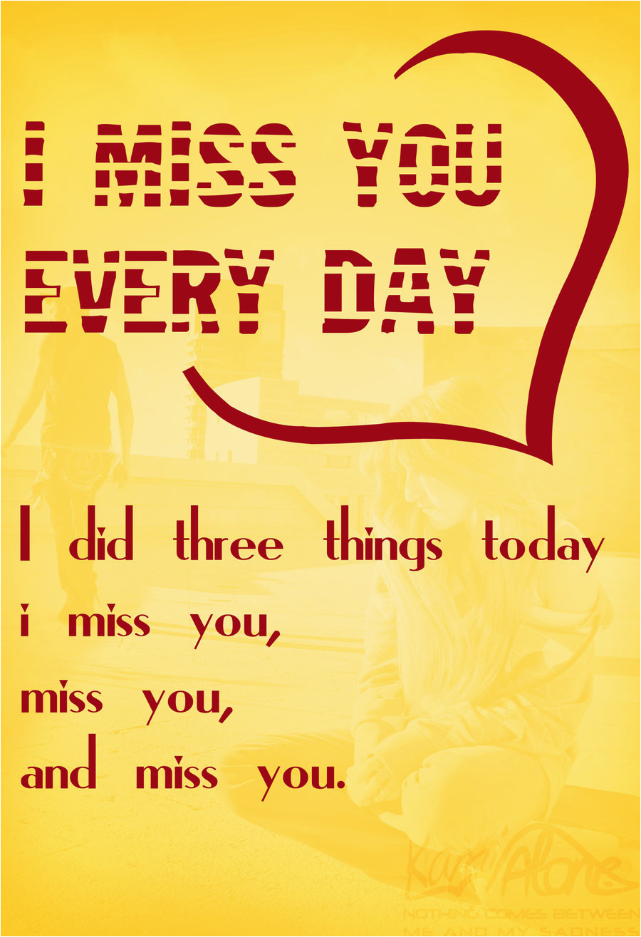 I Miss You Birthday Cards Miss You Greeting Card by Lovehurt123 On Deviantart