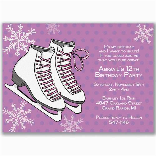 Free Printable Hockey Themed Birthday Invitations