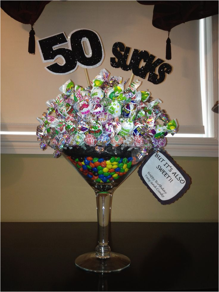 50th birthday party favors and ideas