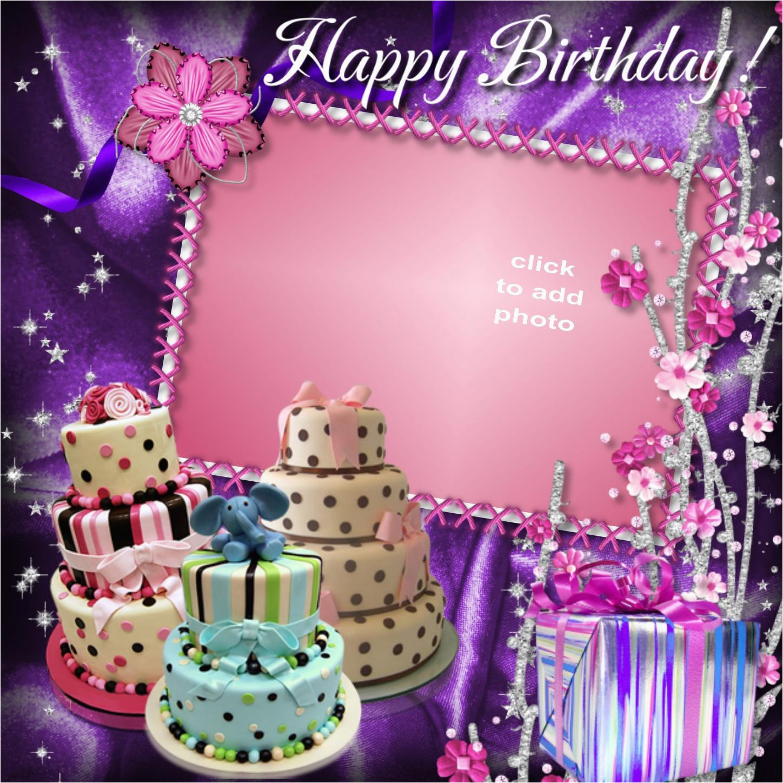 imikimi happy birthday frame