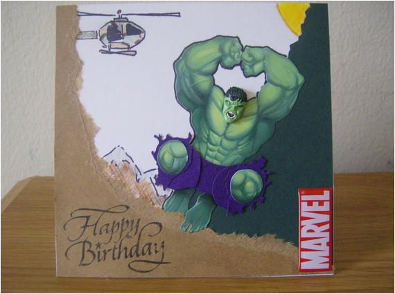 hulk bash birthday card by writtenxpressions on etsy