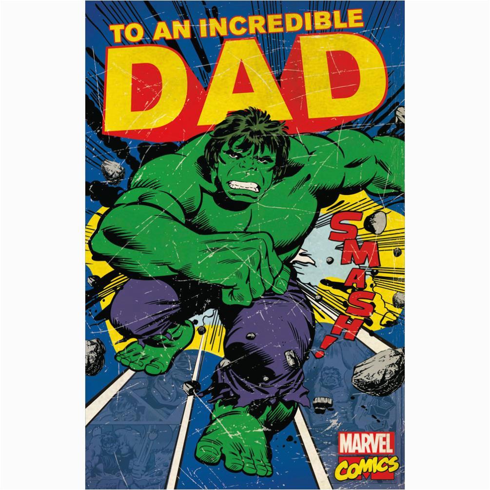 incredible dad retro hulk birthday card 345097 0 1