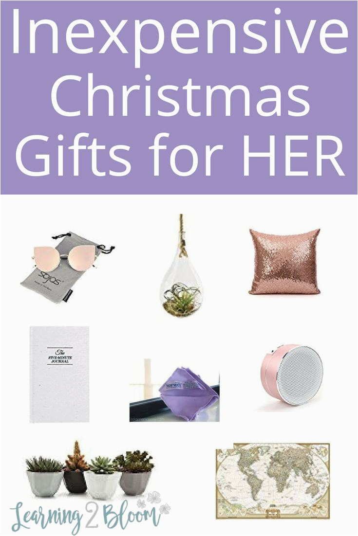 inexpensive christmas gift ideas for women learning2bloom