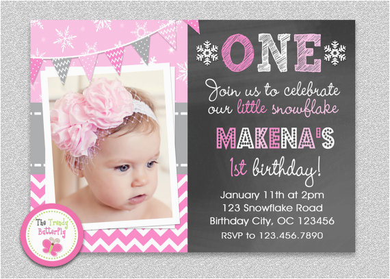 Invitation for 1st Birthday Of Baby Girl Birthday Invitation Cards Baby Girl First Birthday