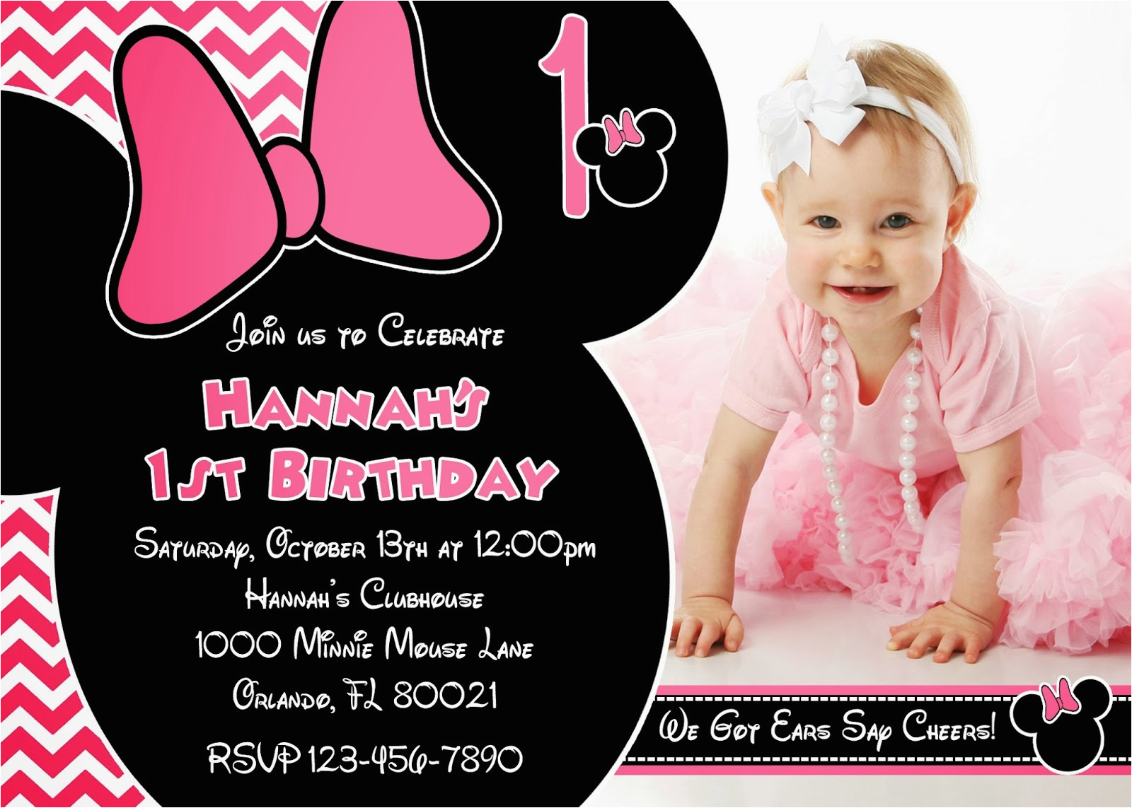 Invitation For One Year Old Birthday Party Invitations Oxsvitation Com