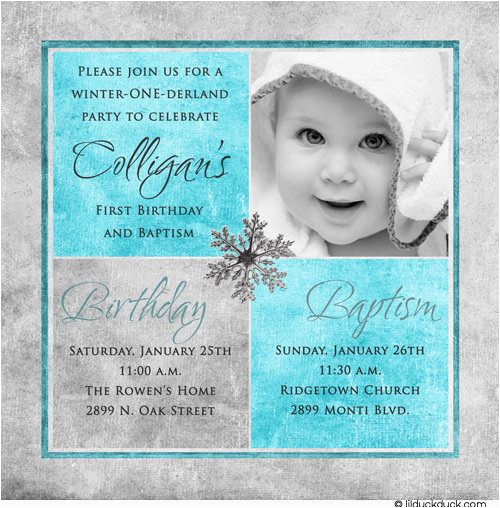 Invitation Wording for 1st Birthday and Baptism  cb3310a611ca