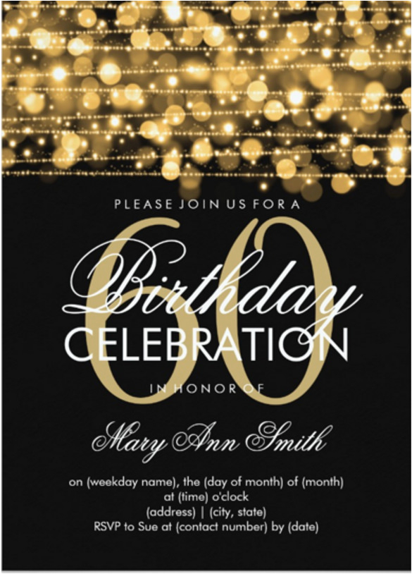 Invitations 60th Birthday Celebration Invitation Template 44 Free Word Pdf Psd Ai