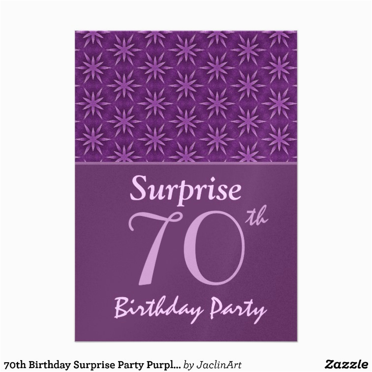 Invitations For 70th Birthday Surprise Party 700
