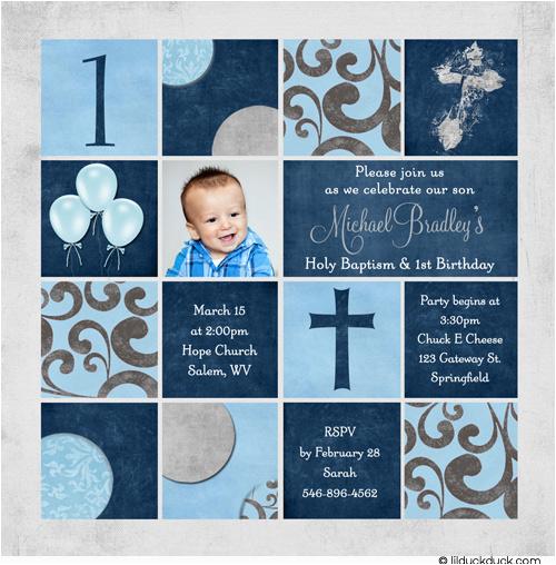 first birthday and baptism invitations dolanpedia