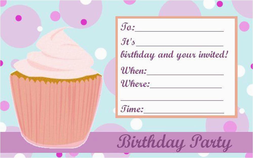 teen birthday invitations