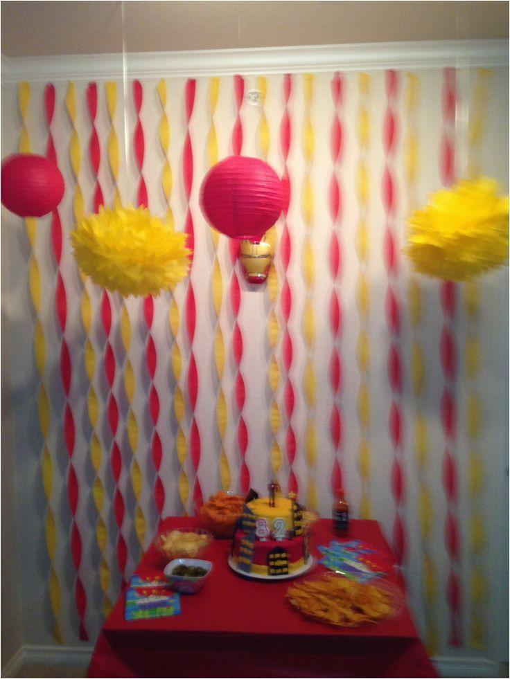 Iron Man Birthday Party Decorations Best 20 Ideas On Pinterest