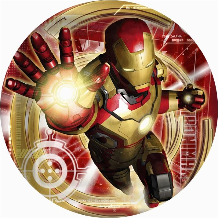 iron man 3 cake icing image