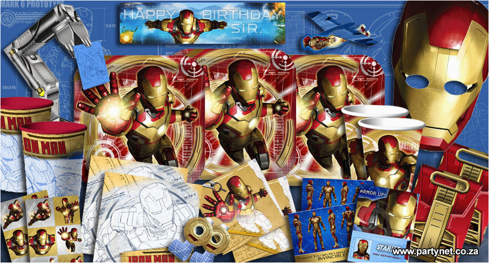 Iron Man Birthday Party Decorations Iron Man 3 Party Supplies Ideas Accessories Decorations