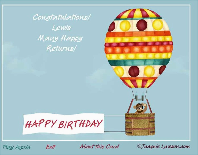 Jacquie Lawson Birthday Cards Login Card Design Ideas