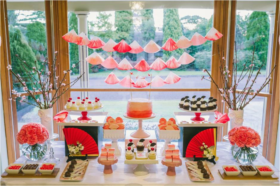 Japanese Birthday Decorations Little Big Company the Blog An Ombre Japanese themed
