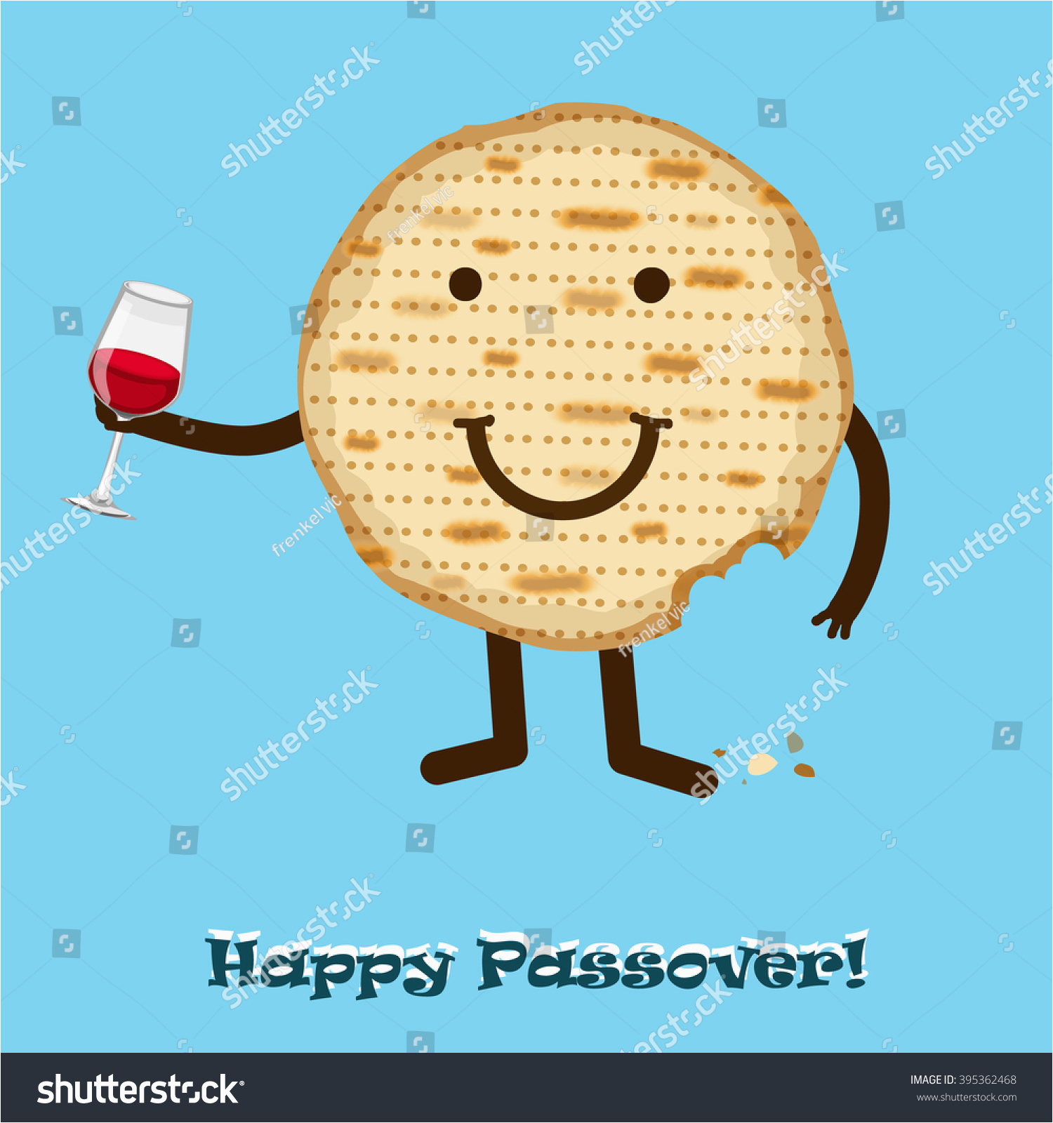 Jewish Birthday Cards Funny Happy Passover Greeting Card Stock Vector