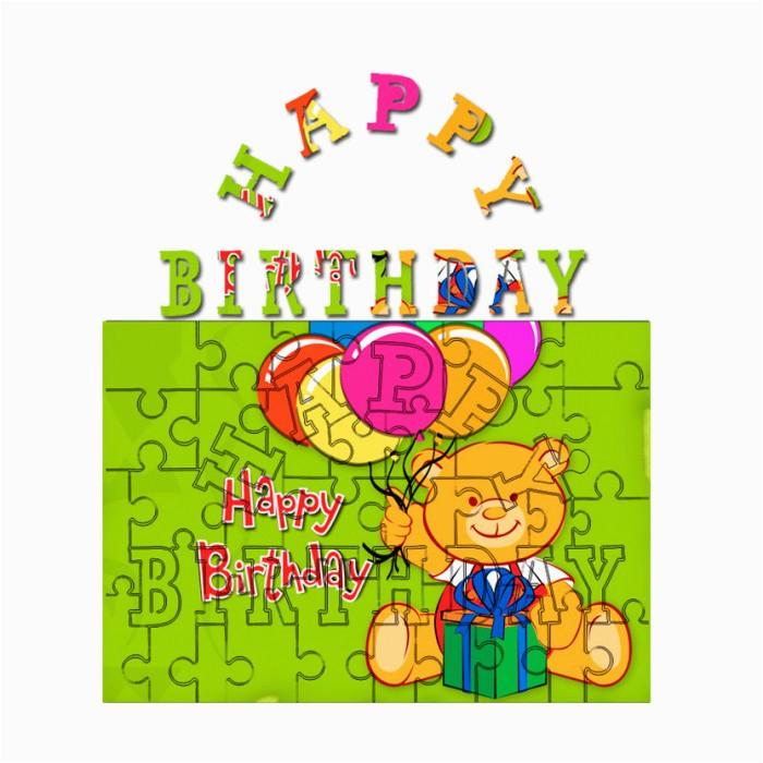 personalised happy birthday jigsaw puzzles