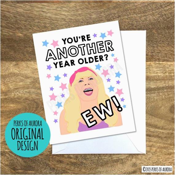 ew jimmy fallon inspired funny birthday card